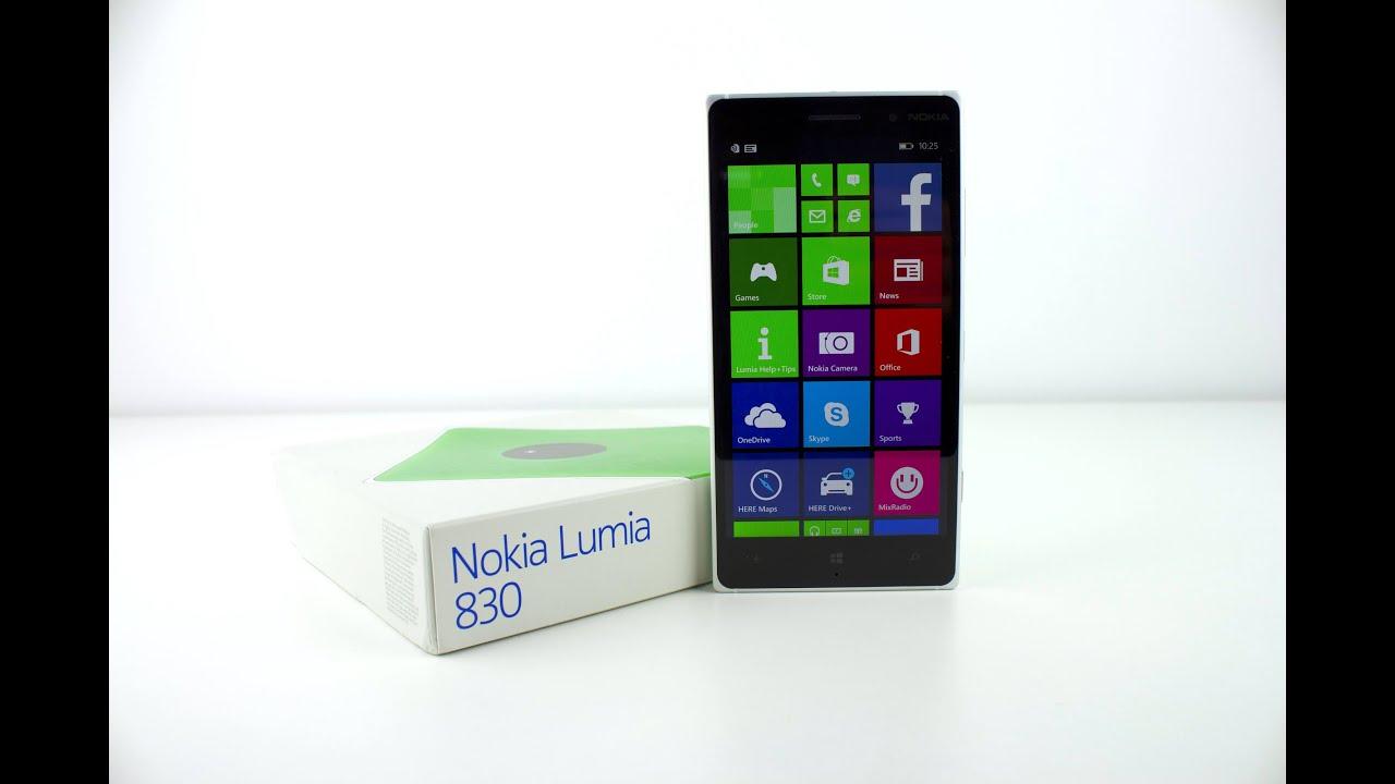 Nokia lumia 830 reviews - Nokia Lumia 830 Unboxing First Impressions Unlocked Green 16gb