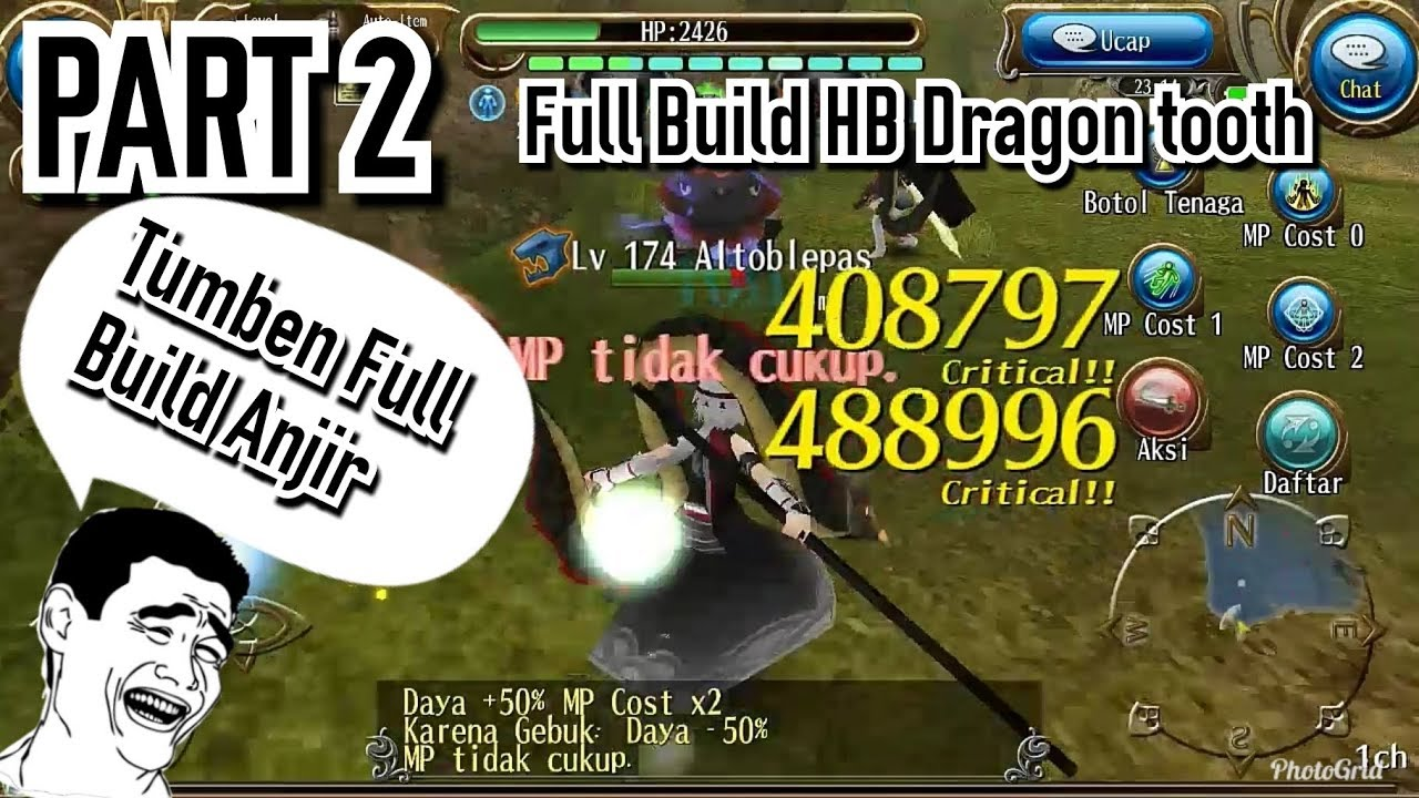 12 73 MB] Toram Online Build HB + Dagger level 185 Dragon tooth