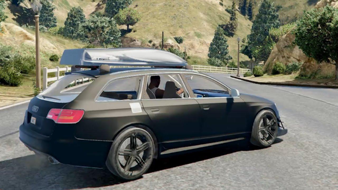 Audi Rs6 Avant 2009 C6 Tuning Gta V 10k Enromovies