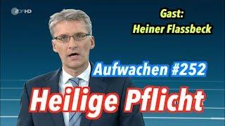 Aufwachen #252 mit Heiner Flassbeck + Sondierungs-TV