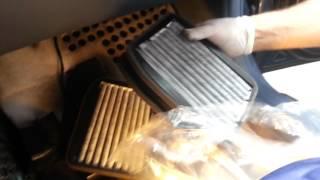 Mercedes class E w211 cambio filtro interno abitacolo a carboni attivi
