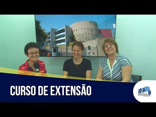 Professoras da Direito São Bernardo apresentam novo curso de extensão