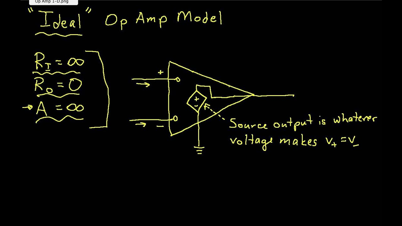 lecture 1 intro to op amps