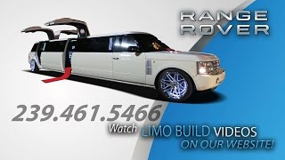 Range Rover Limo Build by Clean Ride Customs
