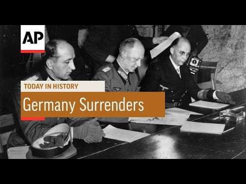 Luneburg: German Surrender - 1945  | Today in History | 7 May 16