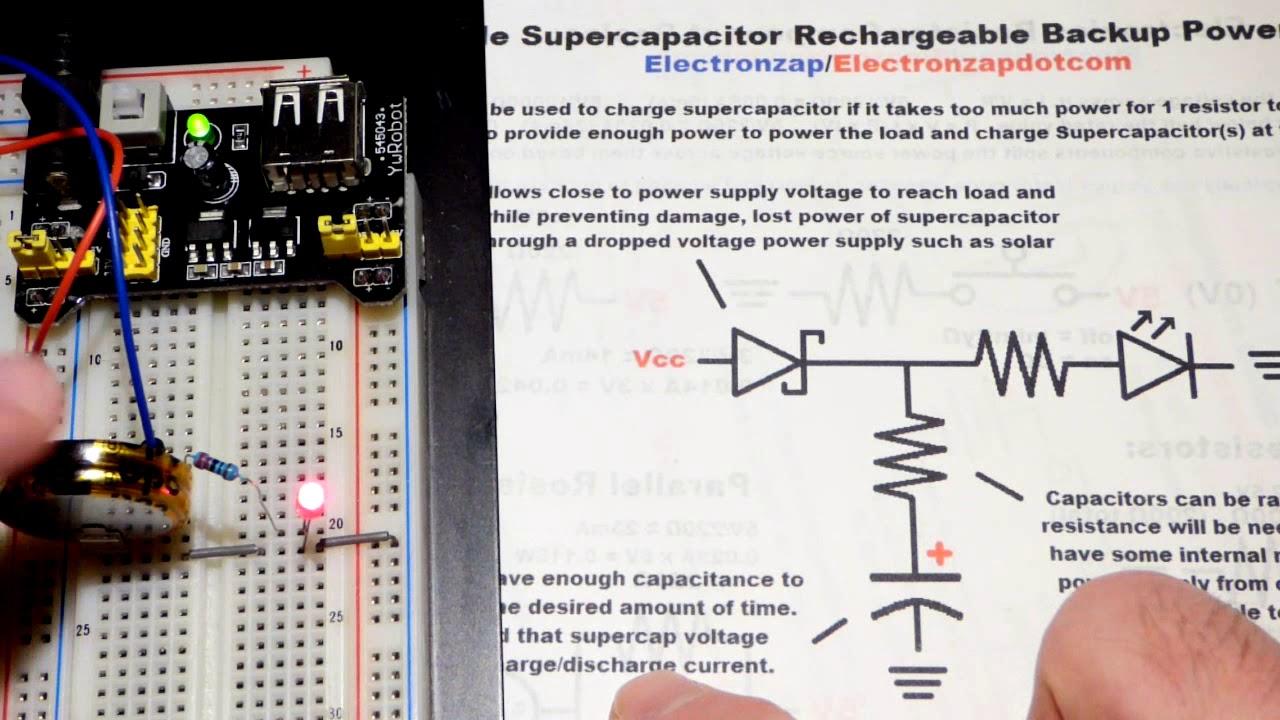 Supercapacitors - Electronzap