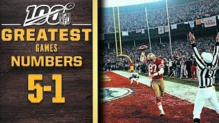 100 Greatest Games: Numbers 5-1 | NFL 100