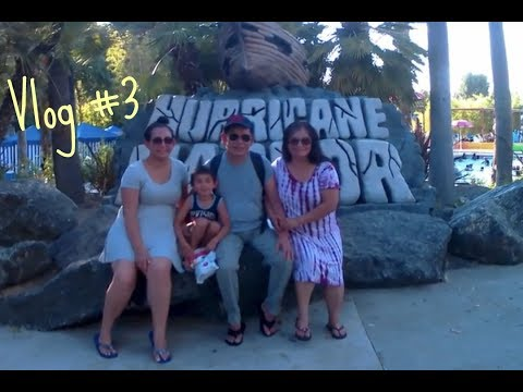 Vlog is #3 || Hurricane Harbor June/25/2017