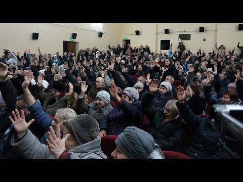 Митинг против «мусорной» реформы в Кимовске 02.02.19. Полная версия в хорошем качестве