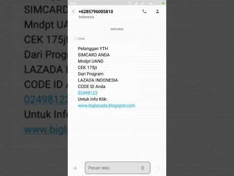 Modus Baru Penipuan Mengatas Namakan Pt Lazada Indonesia Tbk