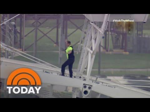Wire-Walker Nik Wallenda Walks Orlando Eye | TODAY