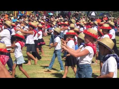 2nd grade May Day Paniolos Kapaa Elementary School