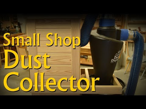 Build a Quiet Mobile Small Shop Cyclone Dust Collector