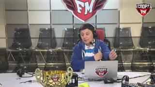100% Футбола с Василием Уткиным.15.03.2017.