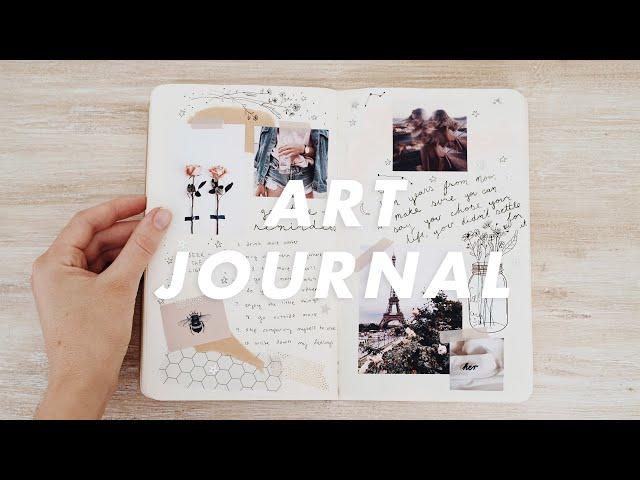 my art journal flipthrough