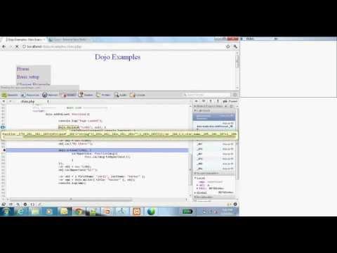 Javascript Toolkit - Dojo Tutorial for Beginners