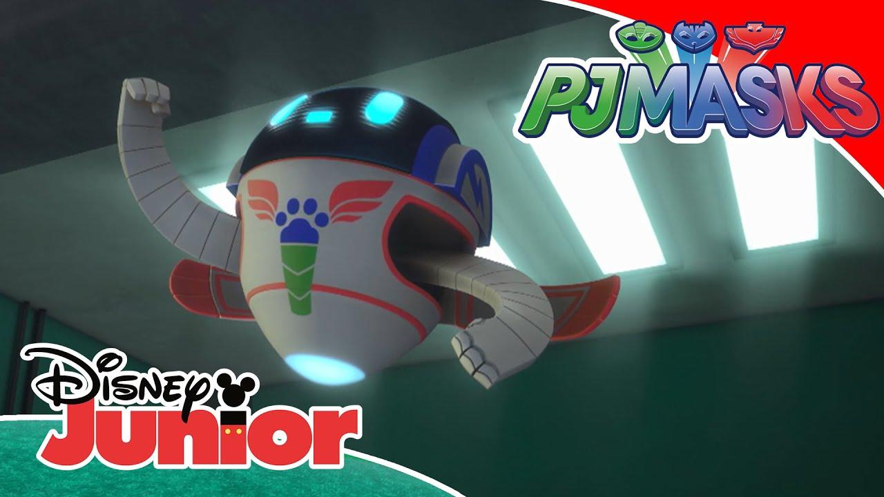 PJ Mask: Compilado Robot  | Disney Junior Oficial