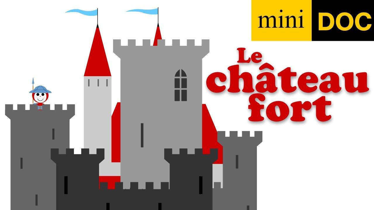 Le Chateau Fort Et Les Chevaliers Dessin Anime Documentaire
