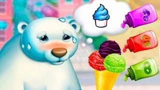 МОРОЖЕНОЕ для МЕДВЕДЯ #35 Готовка челлендж DIY Ice Cream для животных с конфетами