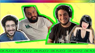 David Sainz, Kike Pérez, Noemí Casquet y Yunez Chaib en OK Playz [13/5/2020]