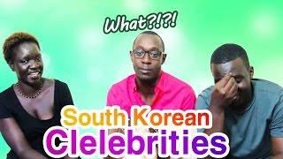 Africans react to Korean celebrities (ENG/KOR SUB) 한국 연예인에 대한 아프리카인의 반응