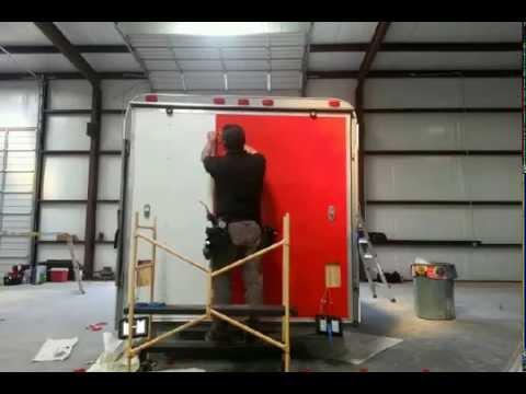 Custom Paint Job For Cargo Trailer