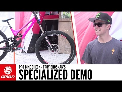 Troy Brosnan's Specialized Demo + Interview