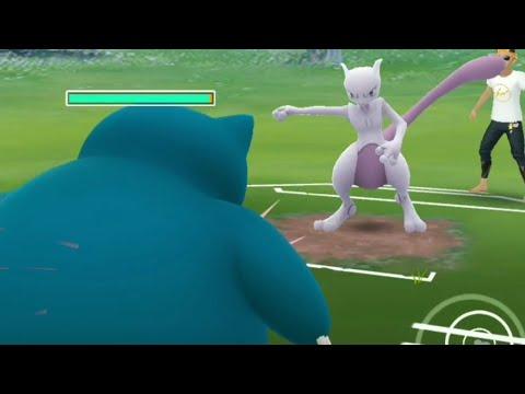 Legacy Snorlax Vs Mewtwo In Pokemon Go PvP
