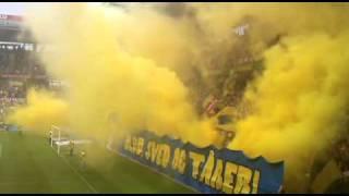 Brøndby stadion tifo