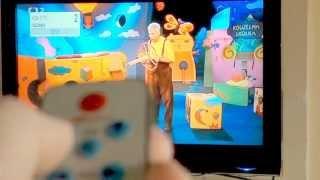 univerzální mini ovladač na televize