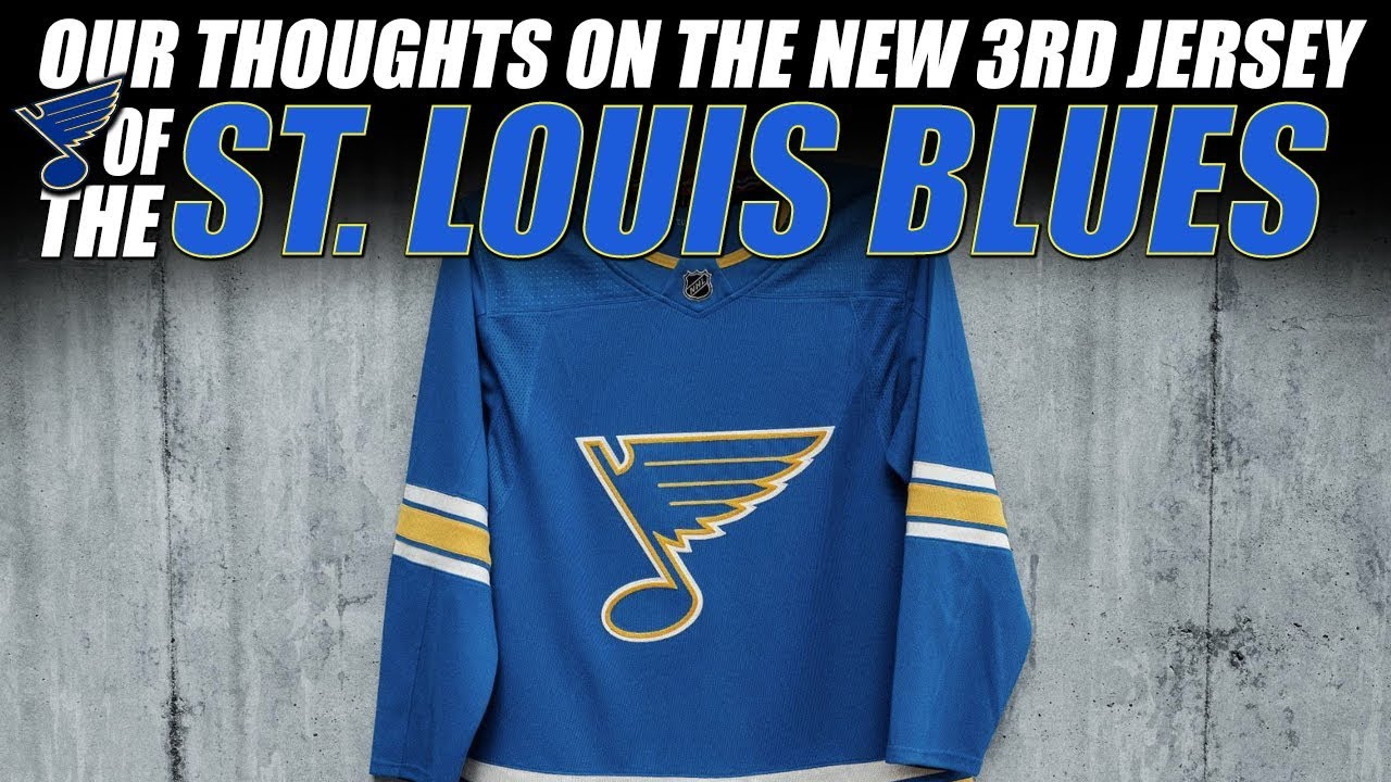 906cd878e58 Our Thoughts on the St. Louis Blues New 3rd Jersey - YouTube