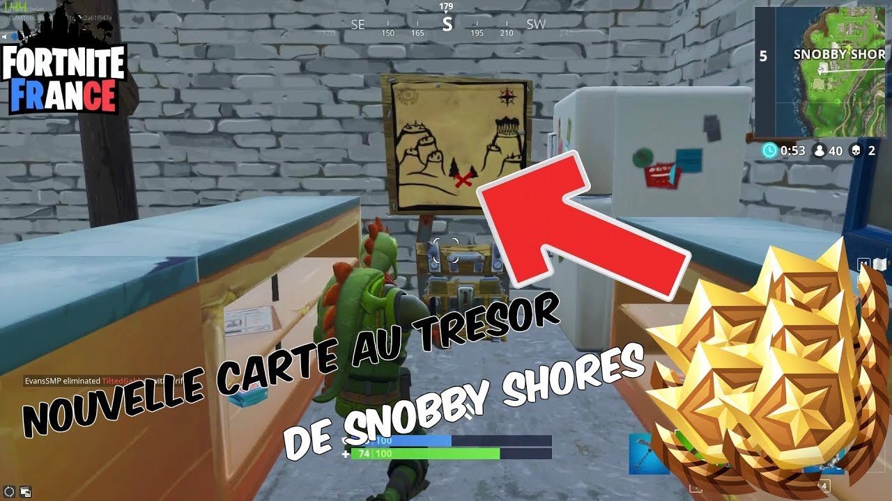 carte au trésor snobby TUTO] DÉFI CARTE AU TRÉSOR SNOBBY SHORES ! Fortnite   YouTube