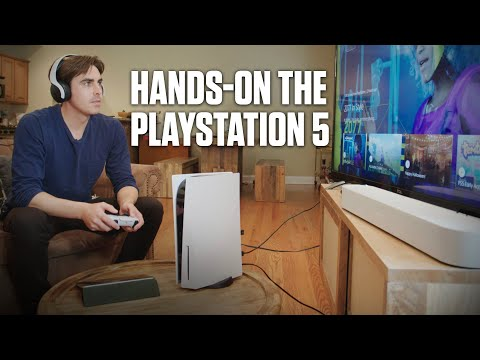 First Test: The PS5 | Popular Mechanics
