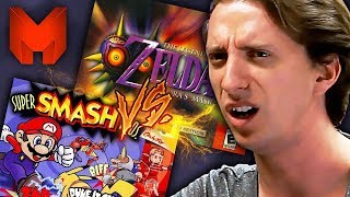 The BEST N64 Games? Super Smash Bros vs Majora's Mask - Madness