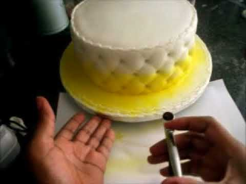 Cake Airbrushing For Beginners Youtube