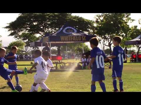 Whitfield SC 10B Royal VS Chelsea Blue 1st Half 9 10 2017