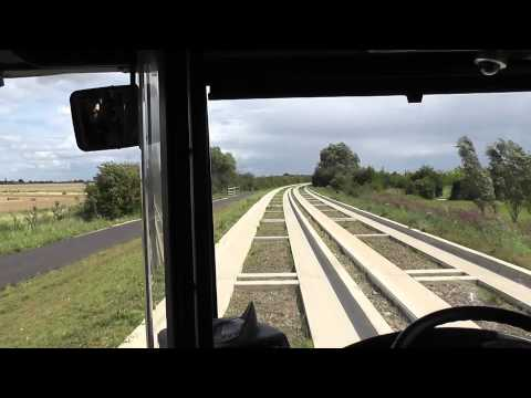 Cambridge Guided Busway Has A Shaky Start. 7th Aug 2011