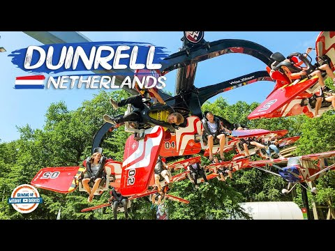 Duinrell & Eurocamp - For The Best Family Holiday in the Netherlands | 90+ Countries with 3 Kids