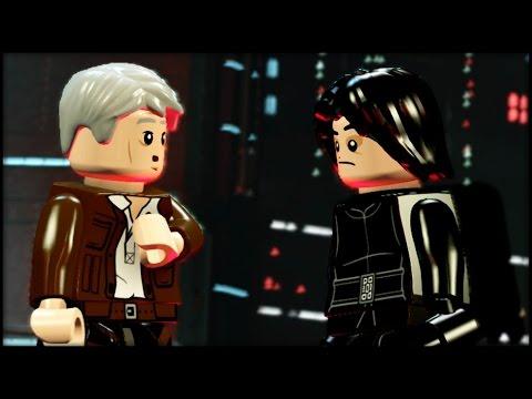LEGO Star Wars The Force Awakens - 100% Guide - Chapter 9 - Destroy Starkiller Base - ALL Minikits