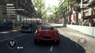 GRID 2 PC Multiplayer Endurance Gameplay: Tier 1 Upgraded Alfa Romeo 4C in Barcelona Liveroutes