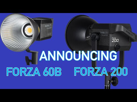 Nanlite Announces the NEW Forza 60B and Forza 200
