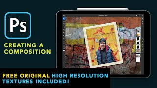 Photoshop for iPad - Creating a Composition