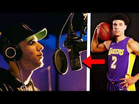 NBA Players You Didn't Know Can Rap! (Steph Curry, Lonzo Ball, Lou Williams, Shaq, Allen Iverson)