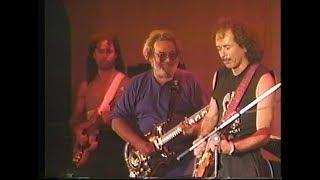 Carlos Santana with Jerry Garcia 08/02/89