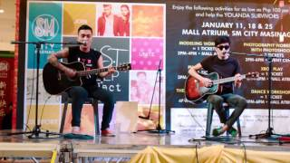 telepono red light go acoustic live performance