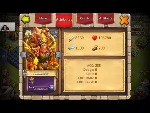 Double Evolving Treantaur For Lava3 + Fortress Feud Castle Clash