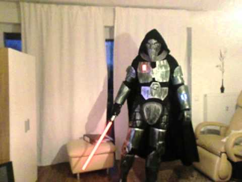Star Wars Old Republic Sith Acolyte Fanmade Kost 252 M Costume