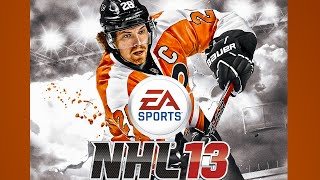 NHL 13 Gameplay USA Canada PS3 {1080p 60fps}