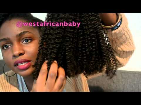 HERGIVENHAIR UNBOXING NATURAL HAIR EXTENSIONS-----westafricanbaby