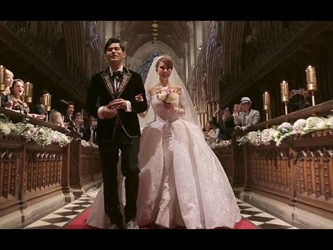 Taiwanese superstar Jay Chou's wedding video